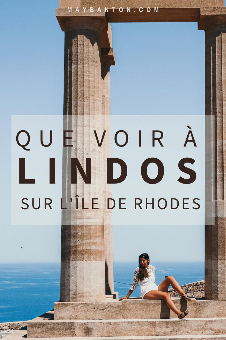 Se perdre dans les rues blanches, découvrir l'Acropole ou encore se baigner dans l'eau bleu turquoise des îles grecques, dans cet article je te dis que faire à Lindos sur l'île de Rhodes
