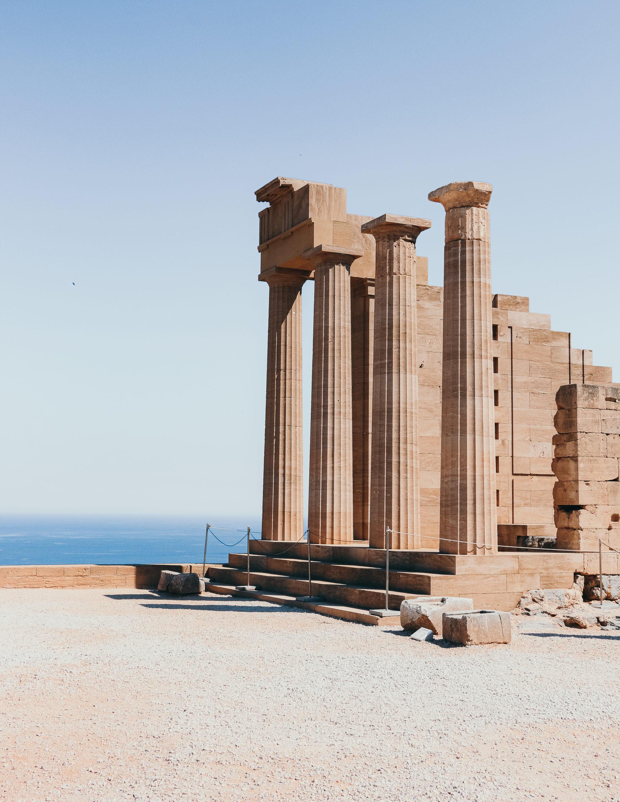 Une journée parfaite à Lindos, Rhodes