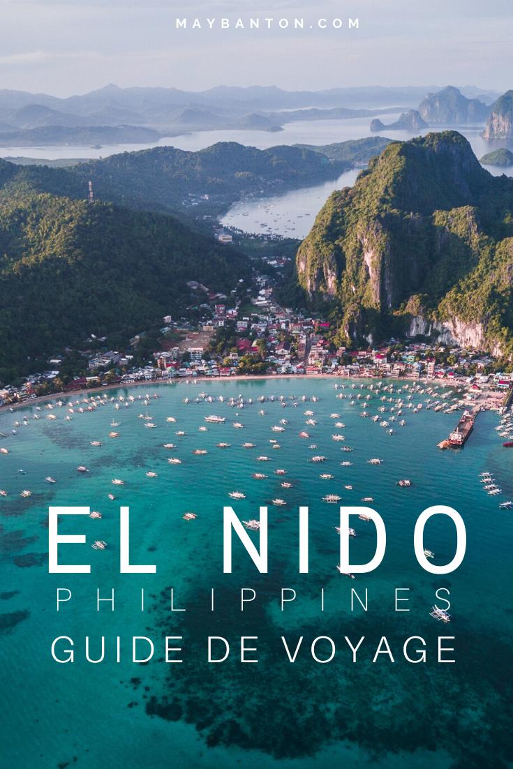 Que faire à El Nido ? Des informations sur l'Island Hopping ? Où loger ? Ce guide du voyageur t'aide à planifier ton séjour au paradis.