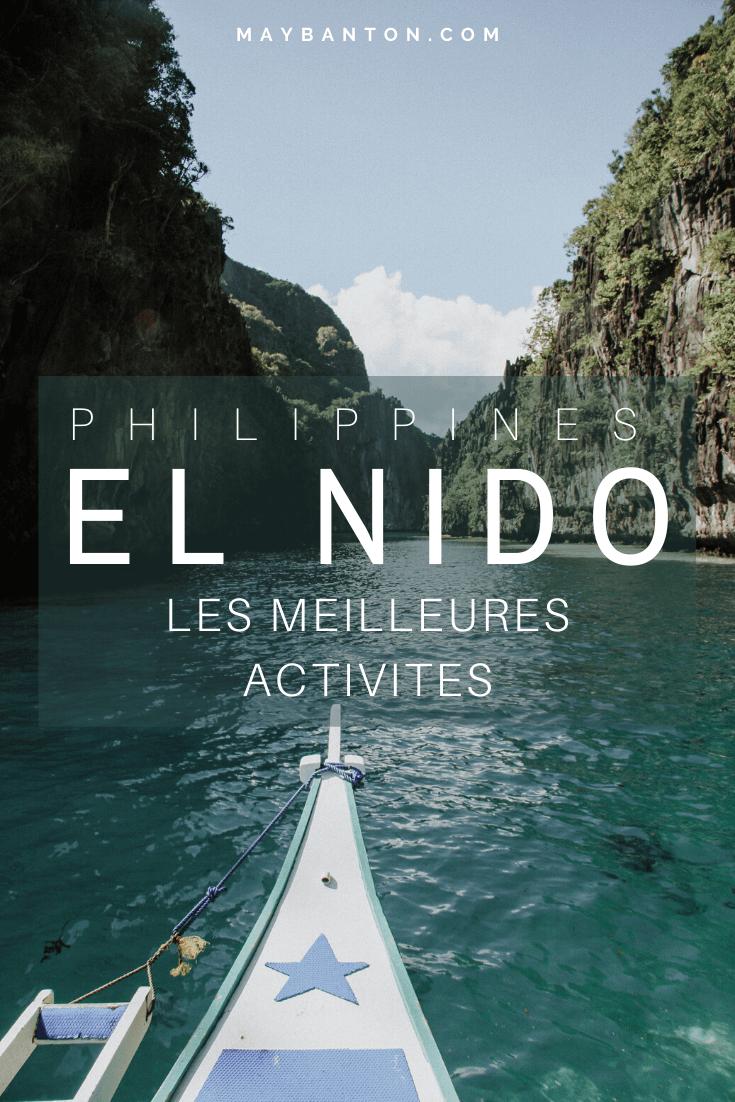 Island Hopping, Randonnées... El Nido est un paradis pour les amoureux de la nature. Pour que tu ne manques pas une miette de ton voyage aux Philippines, voici les meilleurs activités à faire à El Nido, sur l'île de Palawan.