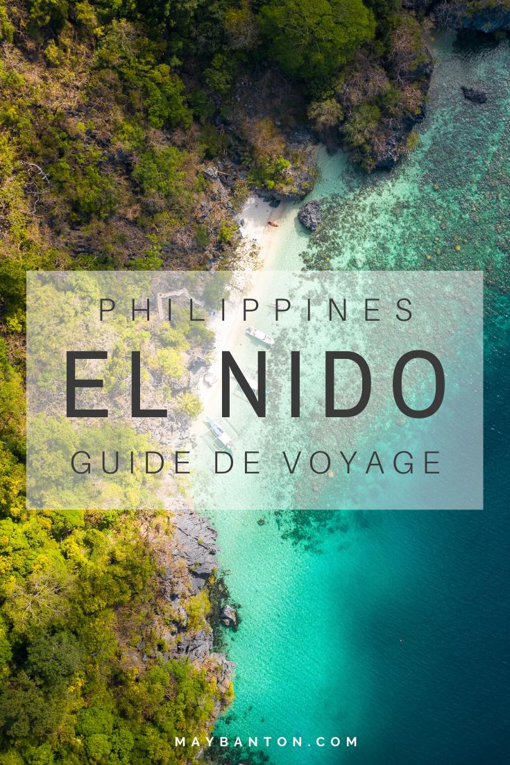 Sur l'île de Palawan, El Nido est l'une des destinations les plus convoitées des Philippines. Avec ces plages paradisiaques et sa jungle verdoyante c'est un spot à mettre à ton itinéraire de voyage. Dans ce Guide tu découvriras notamment quoi faire à El Nido ? Des informations sur l'Island Hopping ? Où loger ?
