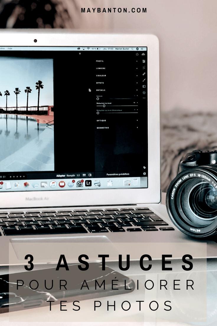 Dans cet article je te donne des astuces très simples qui vont t'aider à faire de bien plus belles photos.