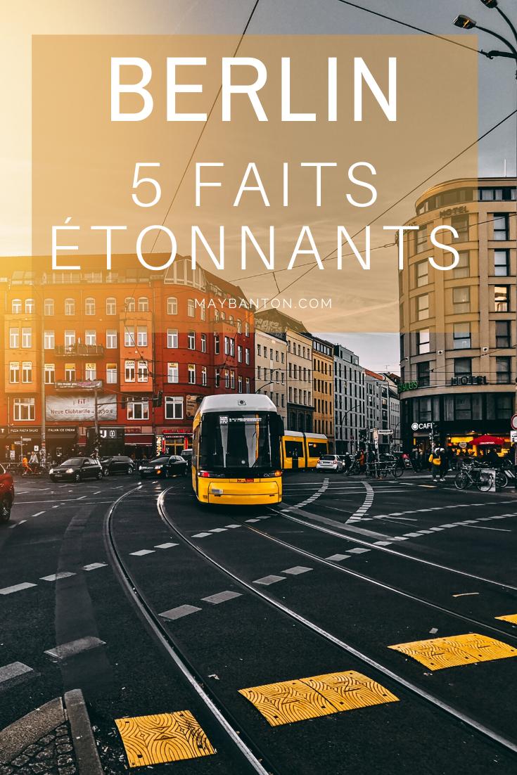 Berlin est une capitale chargé d'histoire, dans cet article je te parle de 5 faits que j'ai découvert sur Berlin lors de mon voyage et qui m'ont étonné.