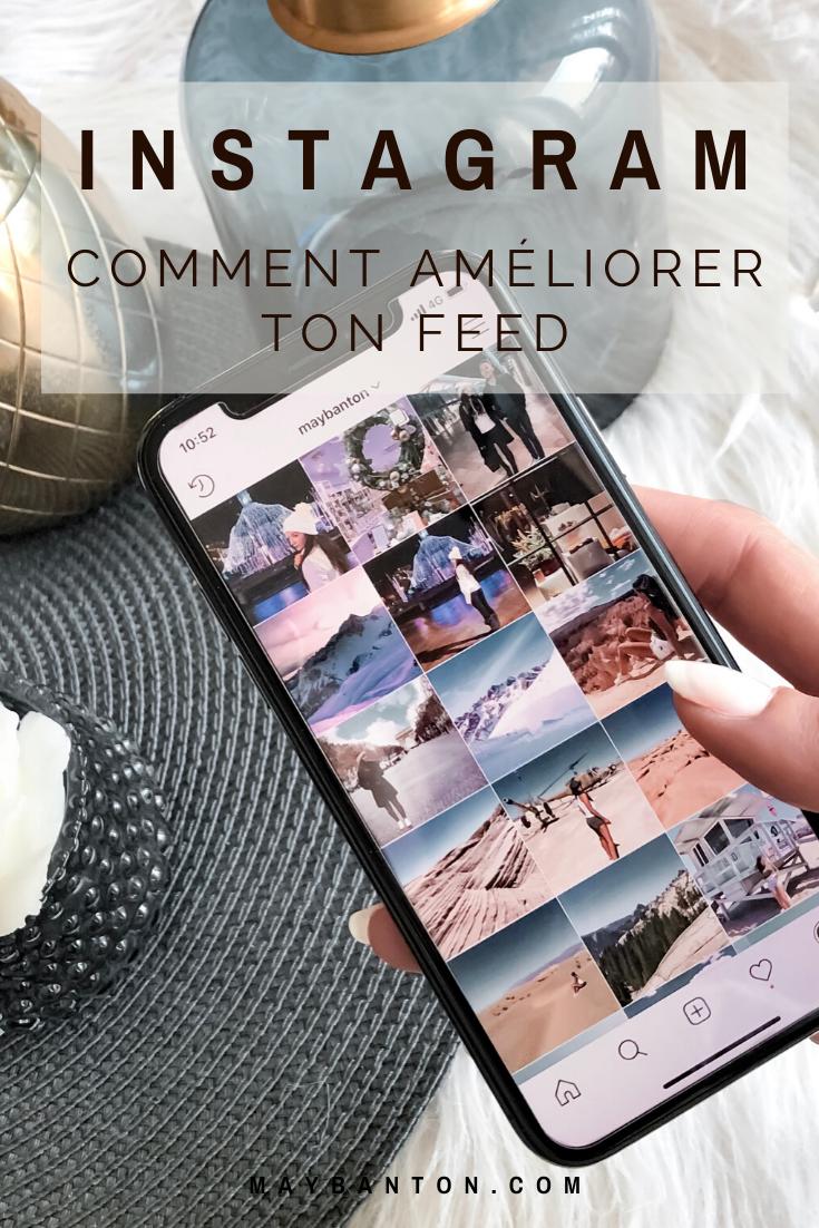 Dans cet article je t'aide à améliorer ton feed Instagram en partageant avec toi ce que j'ai appris en utilisant ce réseau social depuis des années.