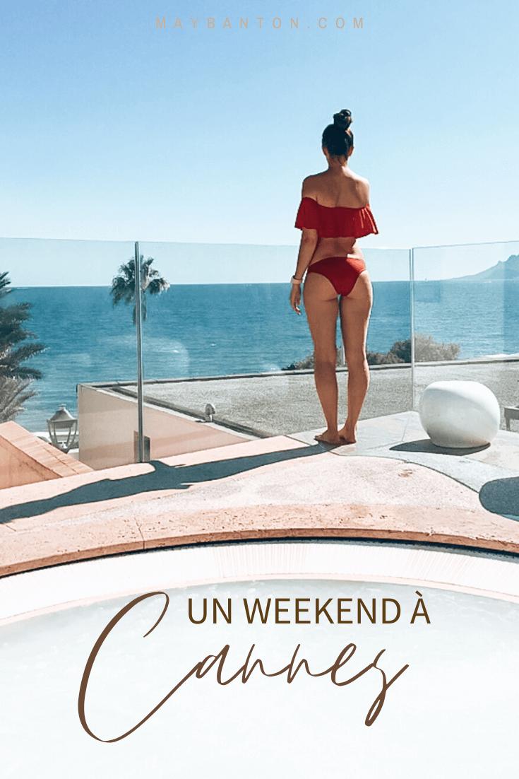 Notre weekend à Cannes pour l'anniversaire de Chris était remarquablement agréable et reposant. Alors j'ai décidé de te donner 5 raisons qui vont te donner envie de passer également un weekend sur la côte d'azur.
