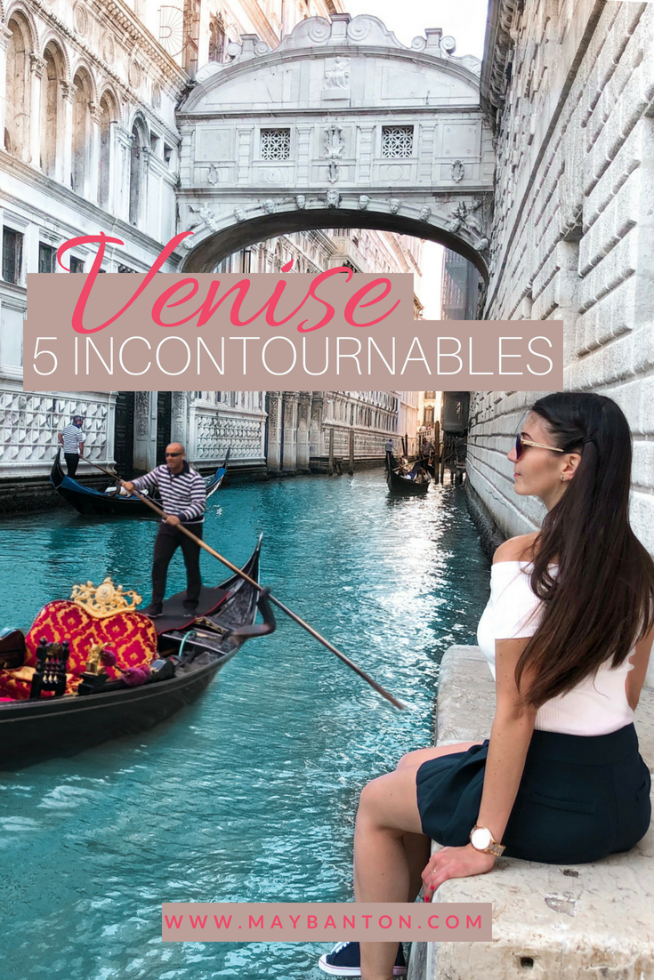 Venise en Italie est un voyage à faire au moins une fois dans sa vie, dans ce post, je te parle de 5 incontournables que j'ai adoré dans la cité des amoureux.