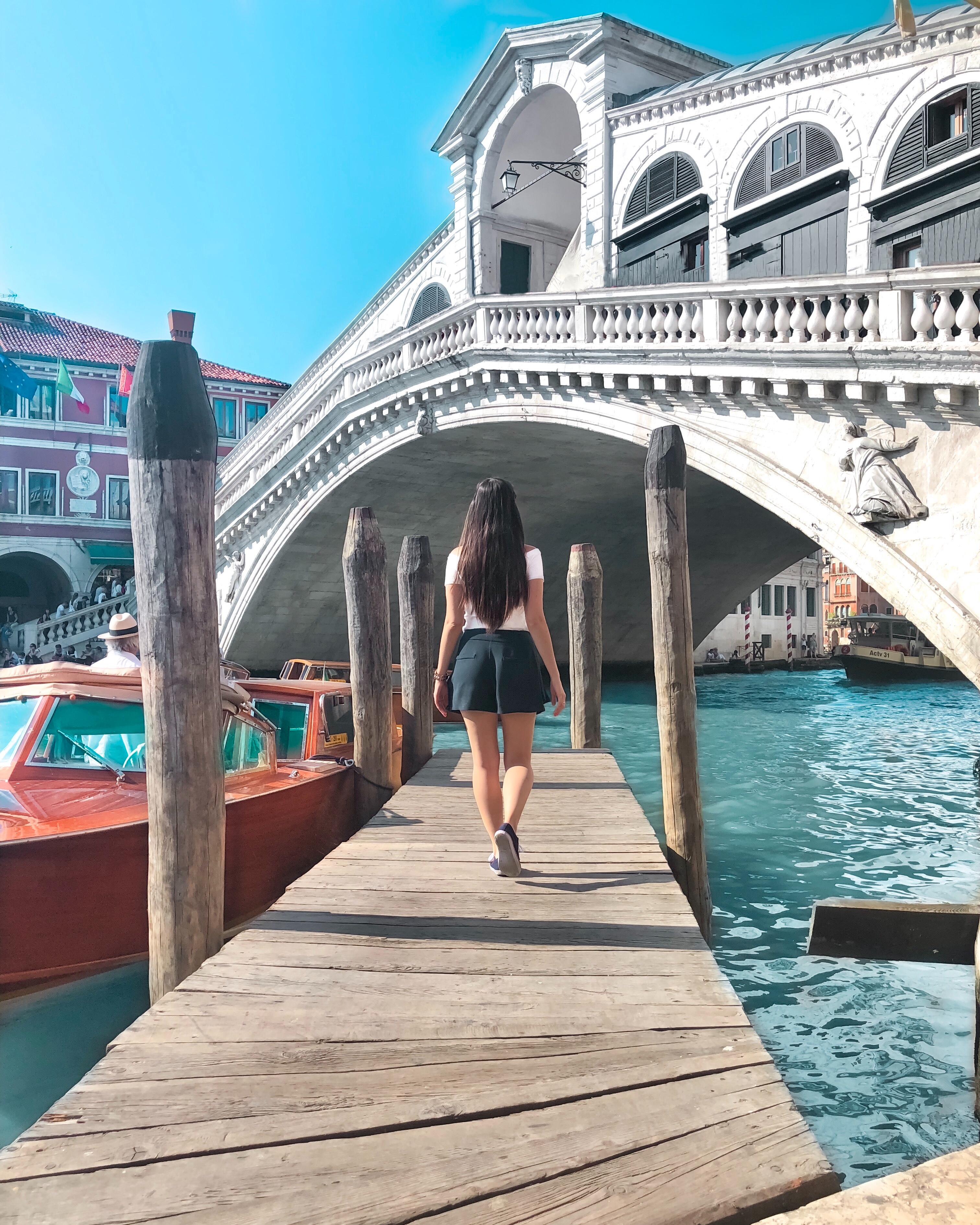 Prendre de jolies photos à Venise malgré la foule de touristes, c'est possible.