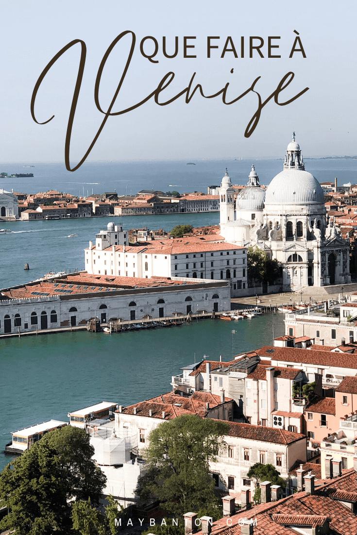 Dans cet article je t'aide à préparer ton voyage à Venise en Italie en te donnant des idées de choses à faire, parfois un peu atypiques mais que j'ai adoré.