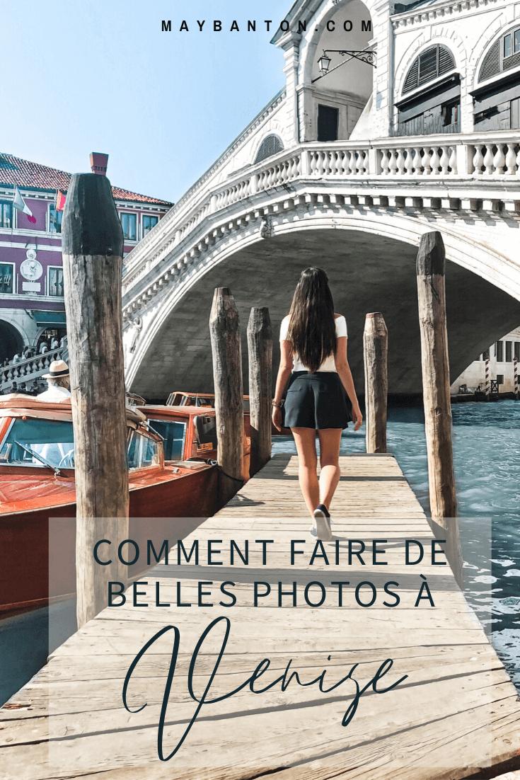 Venise accueille30 millions de touristes par an. Alors pour prendre de belles photos ce n'est pas toujours simple, voici quelques astuces.