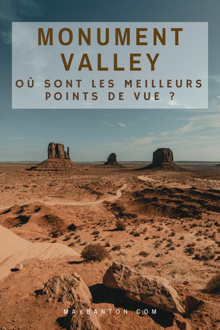 Dans cet article je t'indique les meilleurs points de vue de Monument Valley pour que tu puisses admirer le parc naturel sous tous ces angles.