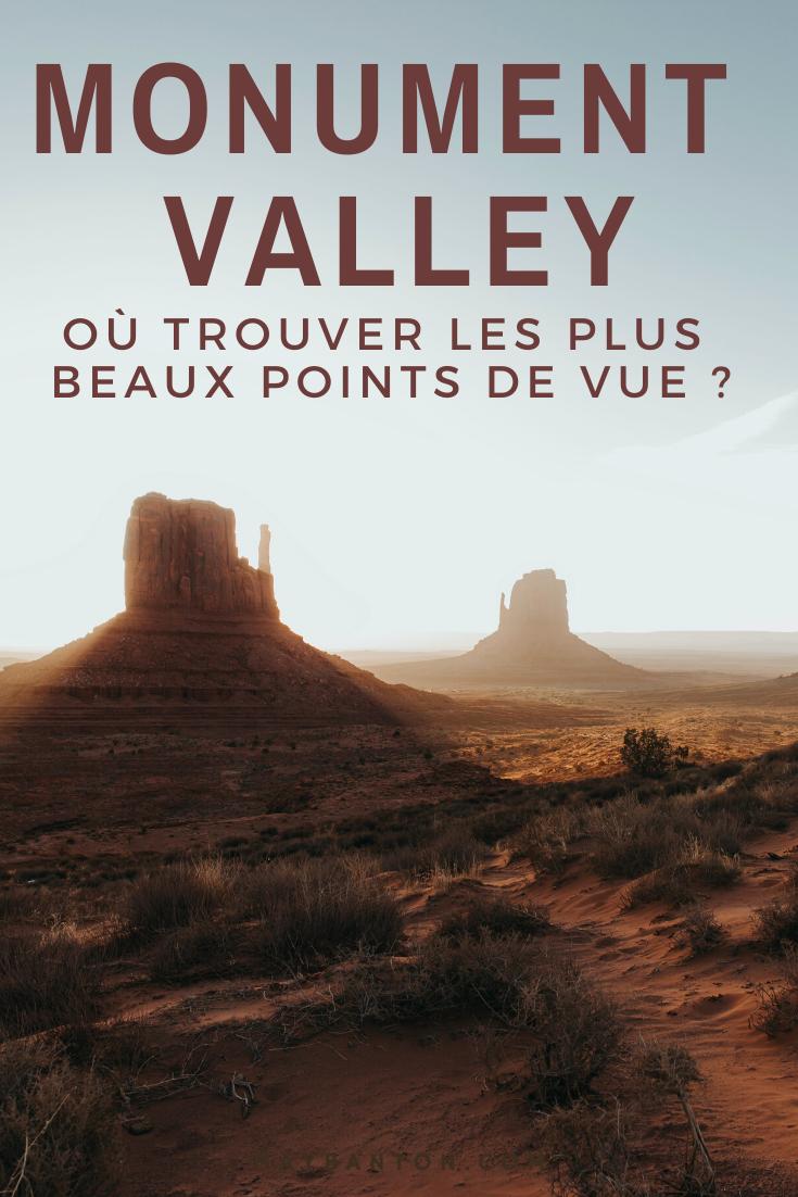Monument Valley est un incontournable de l'Ouest Américain. Dans cet article je t'indique les meilleurs points de vue;
