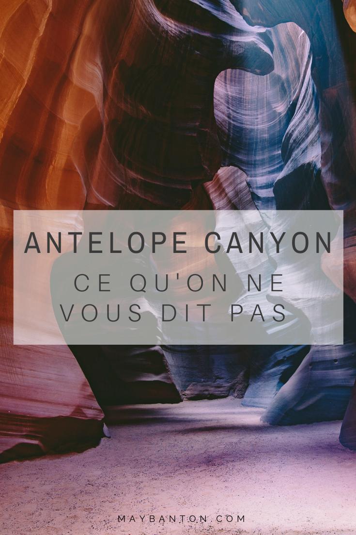 Antelope Canyon est simplement à couper le souffle... cependant victime de son succès, la visite perd de son authenticité. Je t'explique dans ce post mon expérience