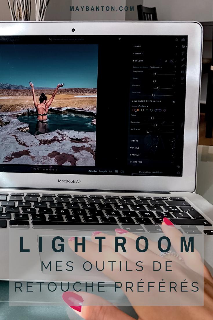 L'une des questions qui revient le plus est comment j'édite mes photos. Alors voici les outils que j'utilise le plus sur Lightroom.