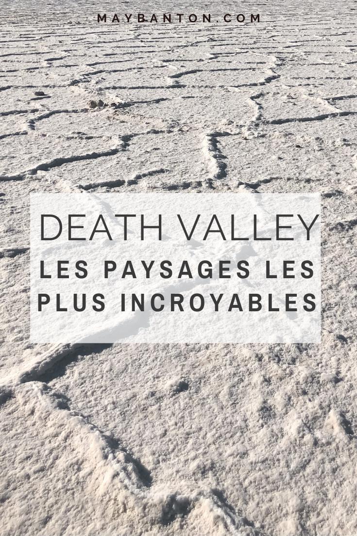 Death Valley est un parc national unique en son genre avec ces paysages lunaires et secs. Dans cet article du découvriras les paysages les plus dingues de la vallée de la mort.