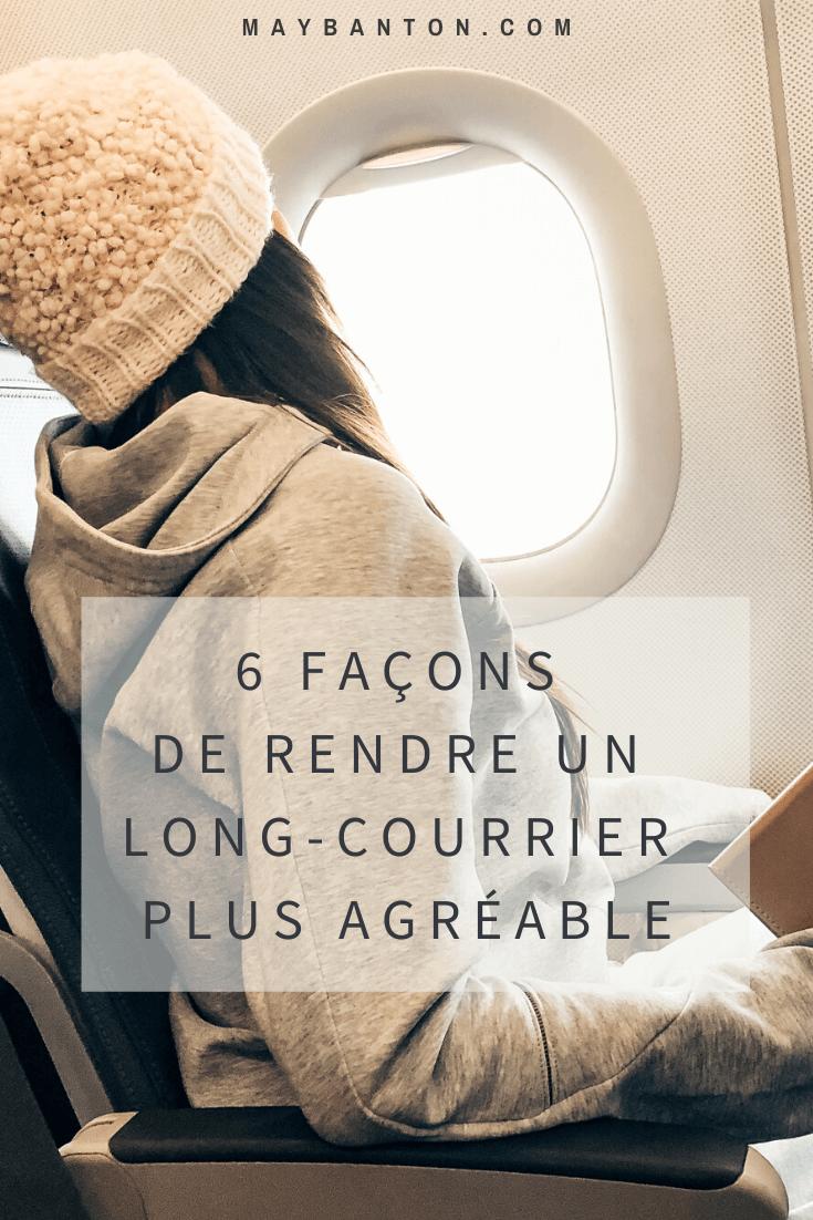 Ces deux dernières années nous avons parcouru 80 000 km en avion alors dans cet article je partage avec toi mes meilleurs conseils pour rendre ton vol plus agréable.