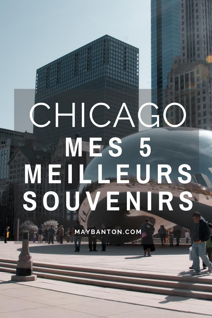 J'ai adoré visiter Chicago. Je garde beaucoup de bons souvenirs de ce voyage. Dans ce post, j'ai sélectionné les 5 choses que j'ai le plus aimé dans la Windy City.