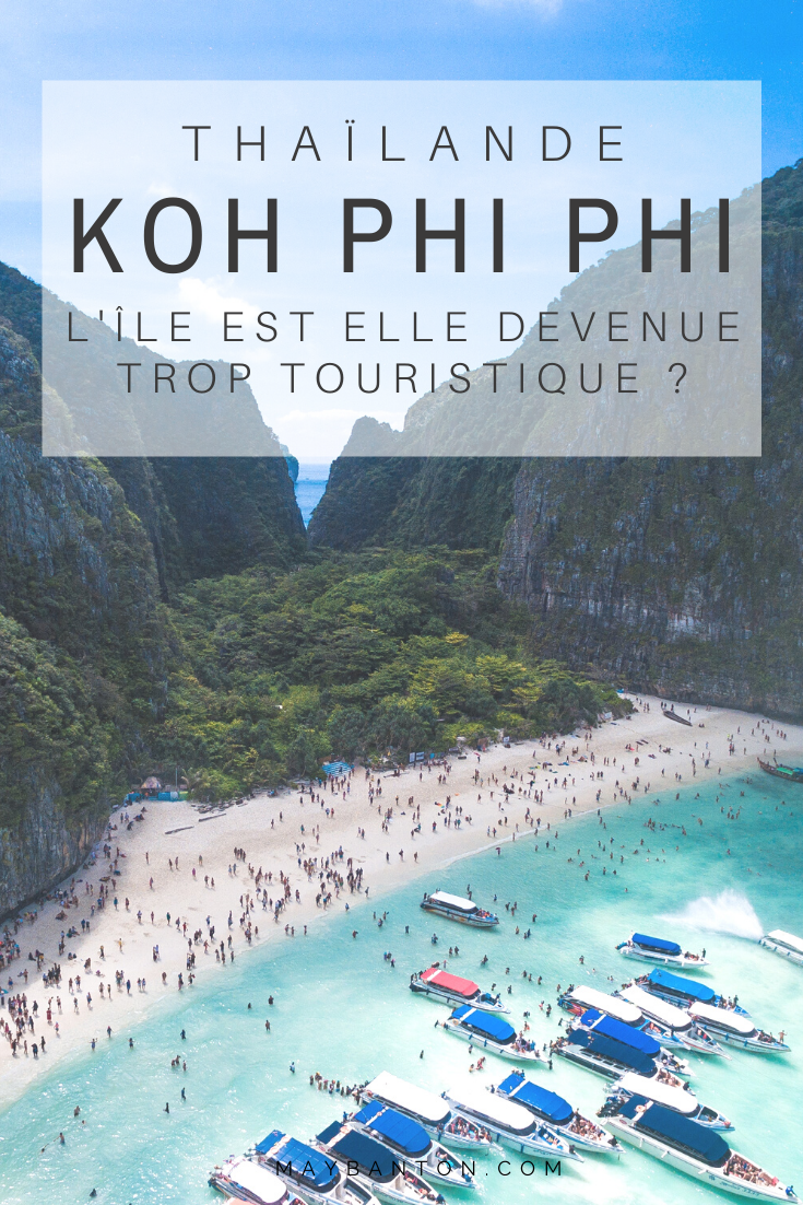 Koh Phi Phi est l'une des îles les plus convoitées de Thaïlande. On entend beaucoup d'avis différents sur l'île, alors dans cet article je t'aide à démêler le vrai du faux et ainsi tu pourras savoir si Koh Phi Phi est devenue trop touristiques pour toi