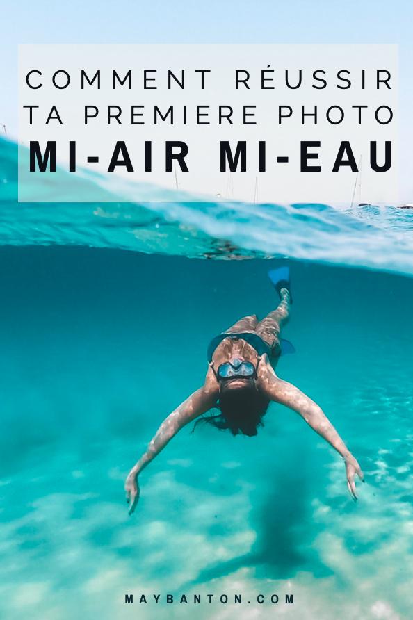 Dans cet article je t'explique comment faire une photo mi-air/mi-eau. Ce type de photo n'est pas si compliqué à faire mais l'effet est toujours top !