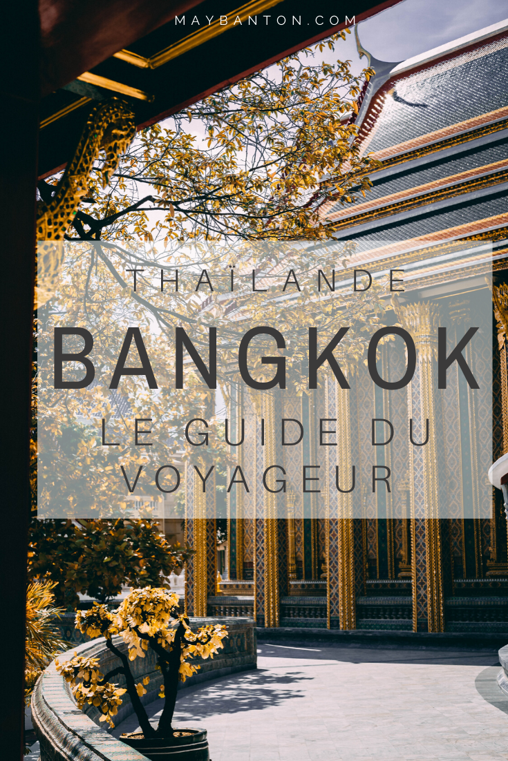 Ce guide du voyageur va t'aider à planifier ta visite de la capitale thaïlandaise, tu y trouveras des informations sur les différents lieux à visiter, les endroits incontournables, les horaires et prix des temples mais aussi où loger et comment se déplacer ?