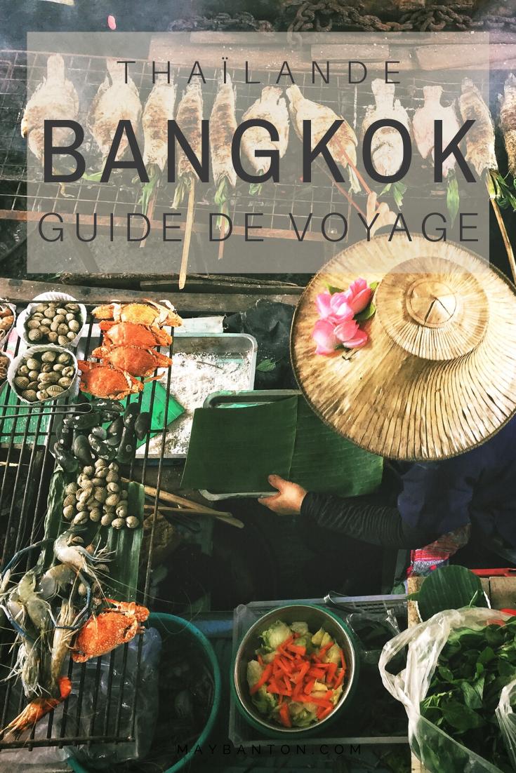 Bangkok, ces temples, ces marchés flottants, son Palais Royal... La capitale de la Thaïlande est un stop incontournable. Dans ce guide de voyage je te dis Que faire ? Où loger ? Comment se déplacer dans Bangkok.
