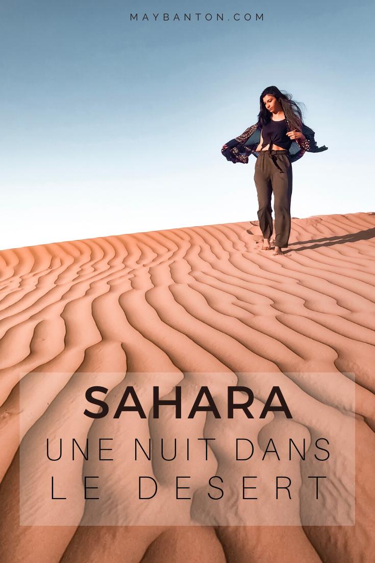 Une nuit sous le ciel étoilé du désert du Sahara est une experience incroybale. Ce carnet de voyage raconte notre expérience dans les dunes de sable lors de notre voyage au Maroc.