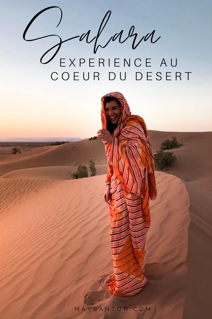 Le soleil se couche lentement derrière les immenses dunes du Sahara pour laisser place à un ciel étoilé comme je n'en avais jamais vu. Dans ce carnet de voyage je te raconte notre expérience au coeur des dunes du Sahara.