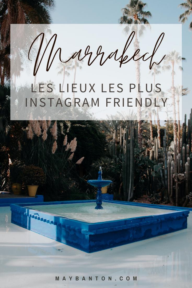 Du jardin majorelle au Riad BE, tu découvriras dans cet article les lieux les plus Instagram friendly de Marrakech.