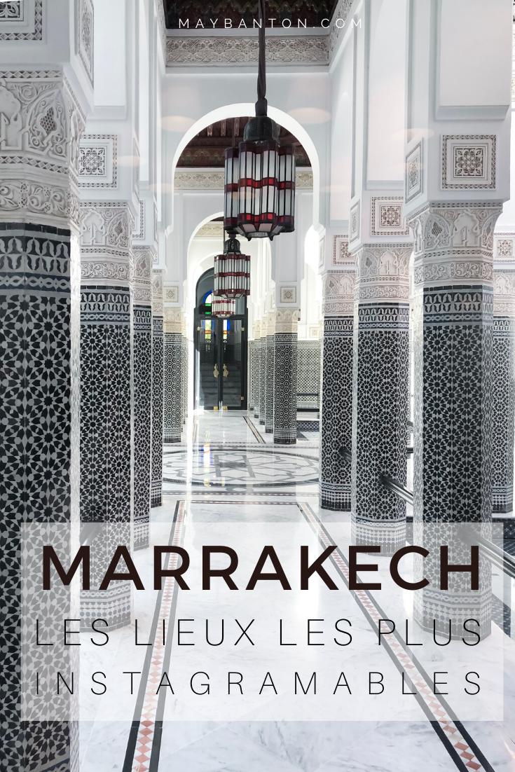 Les souks, les riads et les jardins font de Marrakech l'une des villes les plus populaire d'instagram. Dans ce post tu découvrias les meilleurs endroits pour prendre de belles photos dans l'ancienne capitale du Maroc.