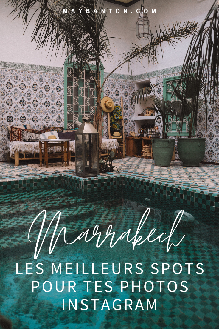 Sur instagram les photos de Marrakech sont toutes plus belles les unes que les autres, dans cet article je te dévoile les meilleurs spots de la ville pour prendre de belles photos.