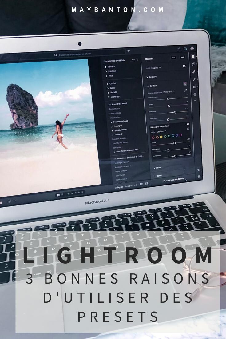 Utiliser des presets sur Lightroom a radicalement changé ma façon de retoucher et pour rien au monde j'arrêterai de les utiliser. Alors, dans ce post, je te donne trois bonnes raisons de sauter le pas.