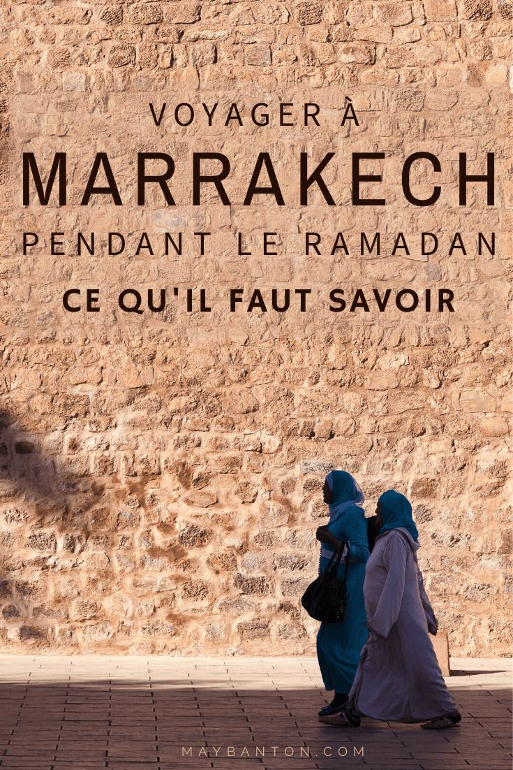 Voyager à Marrakech en plein ramadan, certains disent que c'est une mauvaise idée d'autres assurent le contraire. Dans cet article je te parle des avantages et des inconvénients