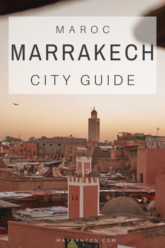 Avec ses souks, ses riads et ses palais, Marrakech est une ville bouillonnante. Ce City guide de Marrakech va t'aider à profiter pleinement de l'ancienne capitale du Maroc