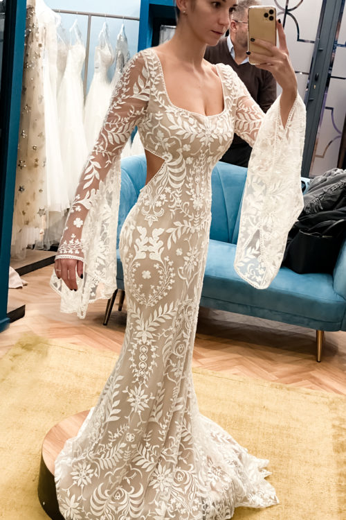 J'ai (enfin) trouvé ma robe de mariée…