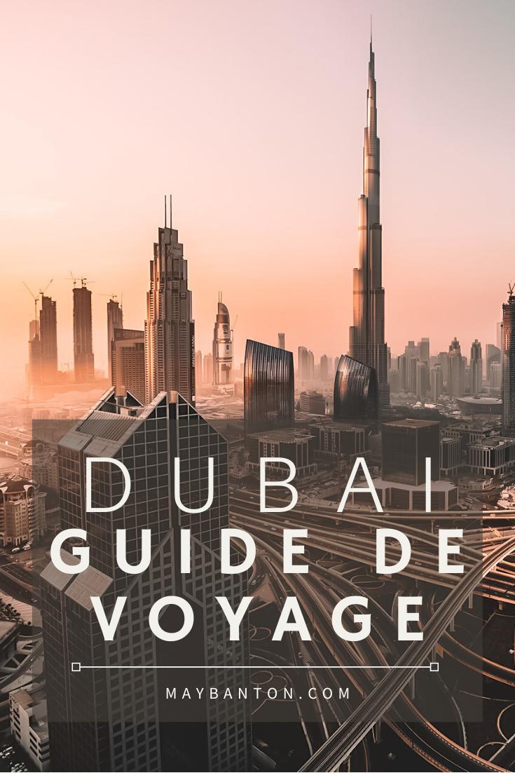 Dubaï: Guide de voyage La Burj Khalifa, les mall, les plages, le desert, dans ce guide de voyage tu decouvriras les meilleurs activités à faire à Dubaï mais aussi où loger ?Où manger ? Et comment te déplacer dans la ville.