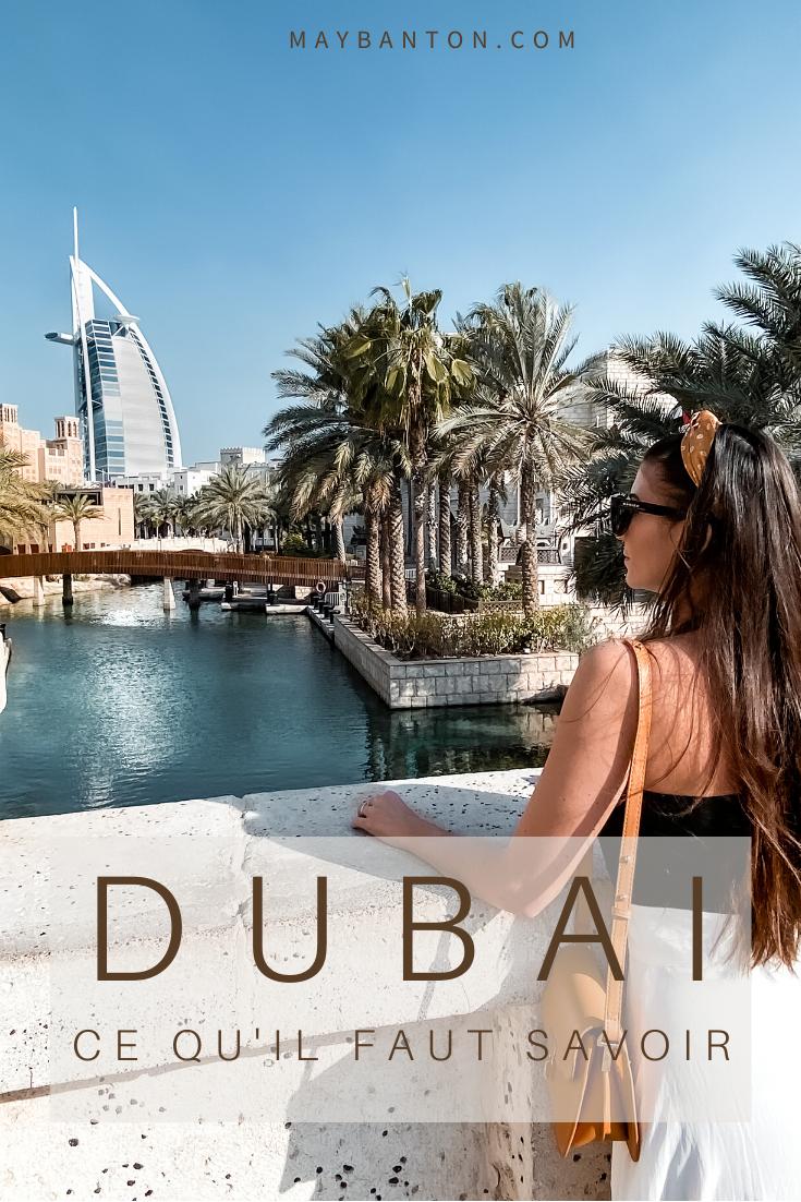 Visiter la Burj Khalifa, admirer les spectacles de fontaines, expérimenter le désert ou encore flâner sur les plages ou dans le fabuleux quartier de la marina. Dans cet article je te dis tout ce que tu dois savoir avant de partir à Dubaï.