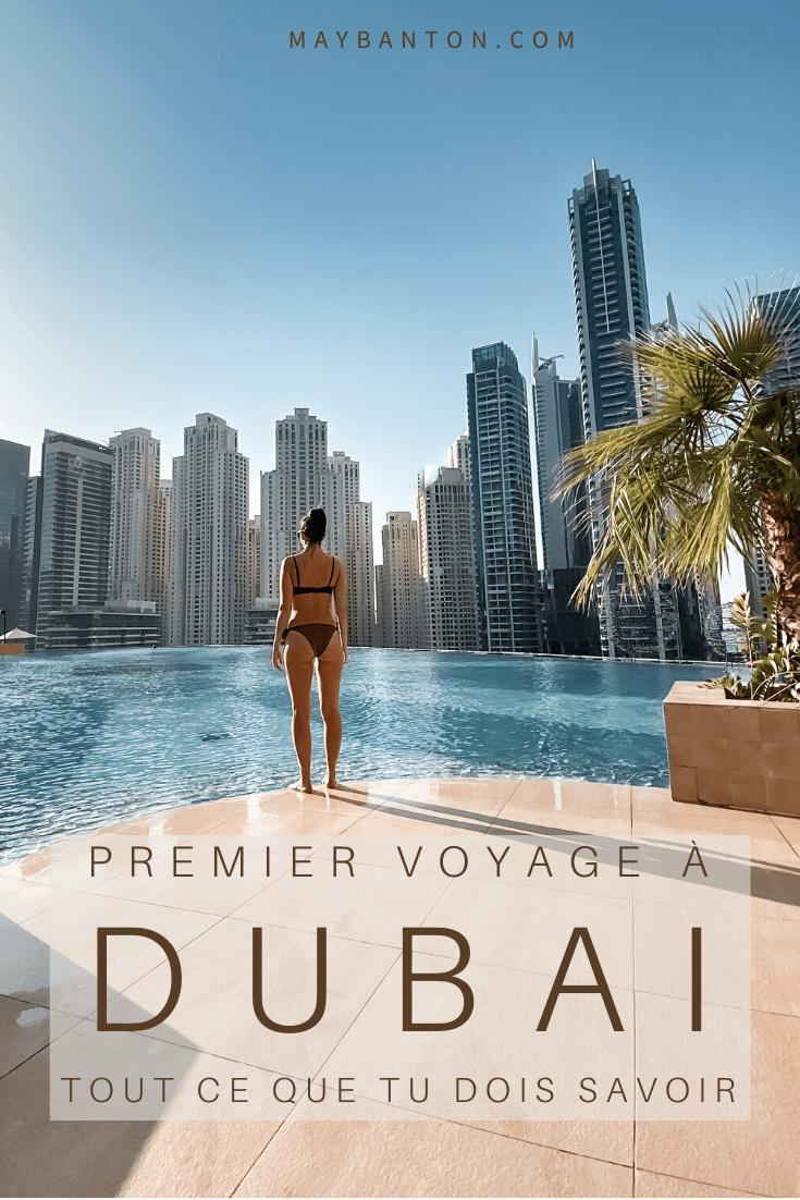 De la Burj Khalifa et son spectacles de fontaines au désert en passant par global village, les plages ou encore le fabuleux quartier de la marina, dans cet article je t'aide à préparer ton premier voyage à Dubaï.