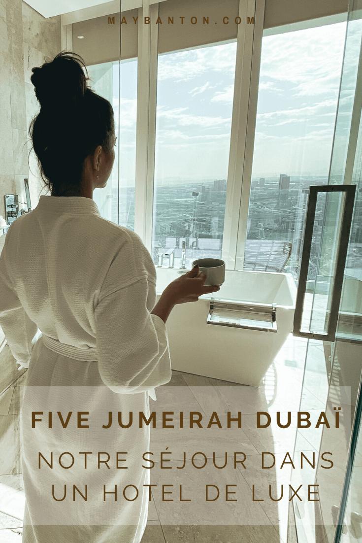 Dans cet article je te raconte notre séjour au Five Jumeirah Village de Dubaï. Mais surtout je te donne mon avis sincère sur cet hôtel 5 étoiles.
