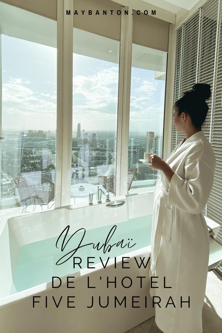 Dans cet article je te propose une review complète et honnête de l'hôtel de luxe  Five Jumeirah Village de Dubaï.