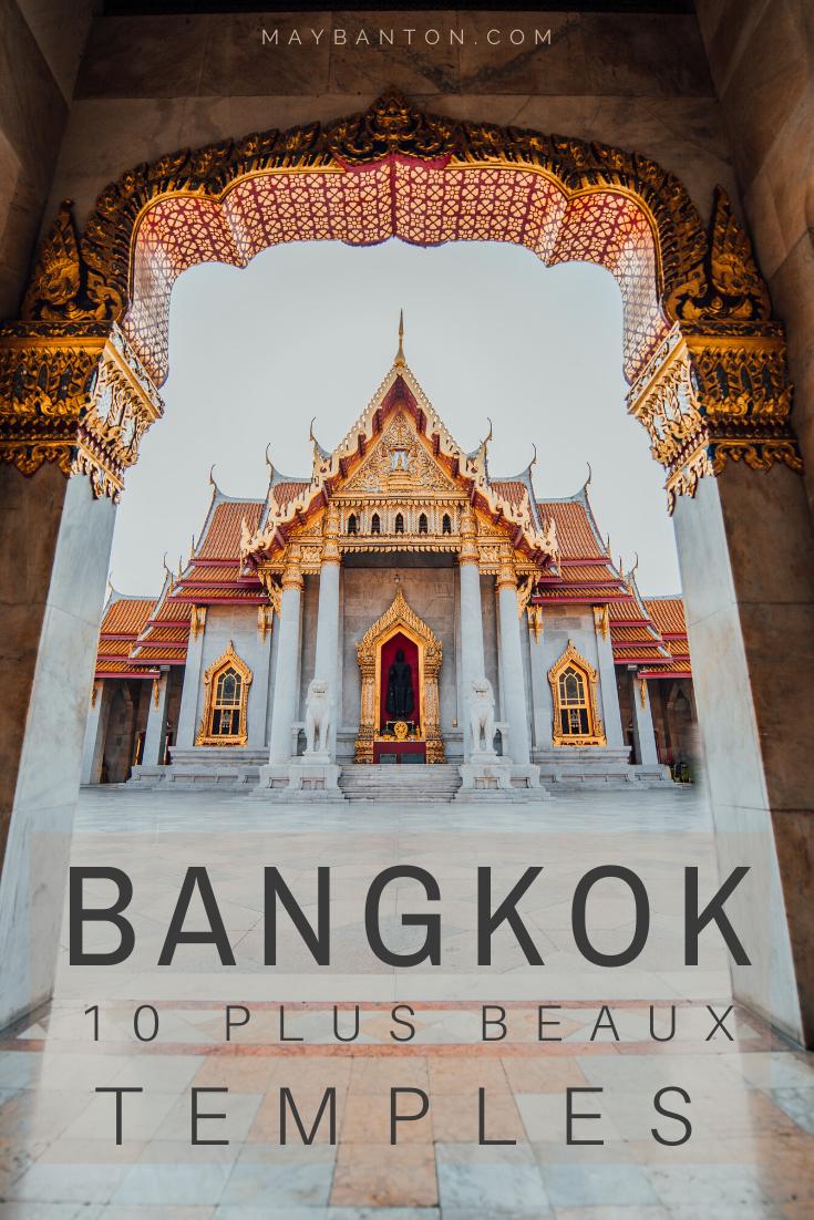 Visiter les temples Bouddhistes est l'une des activités les plus prisées lors d'un voyage à Bangkok. Il en existe 400 dans la capitale, dans ce guide j'ai sélectionné les 10 plus beaux temples de Bangkok
