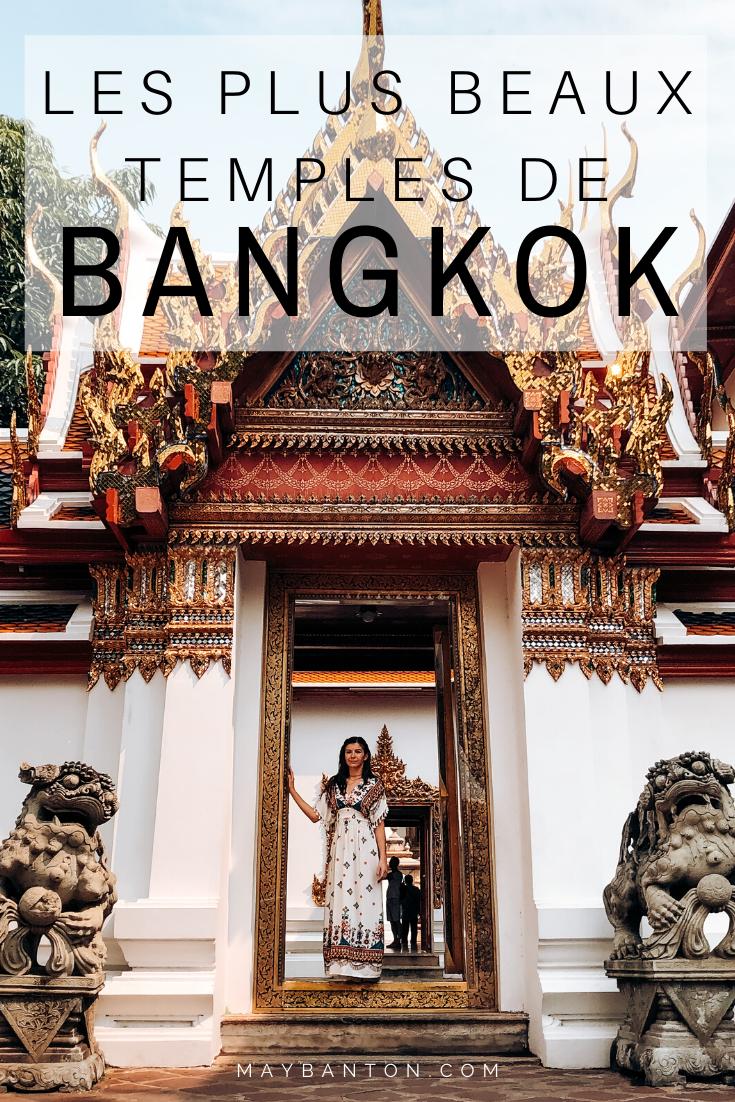 Bangkok compte plus de 400 temples bouddhistes, dans cet article j'ai fait une sélection des plus beaux temples de la capitale Thaïlandaise. Tu verras certains sont vraiment atypiques.