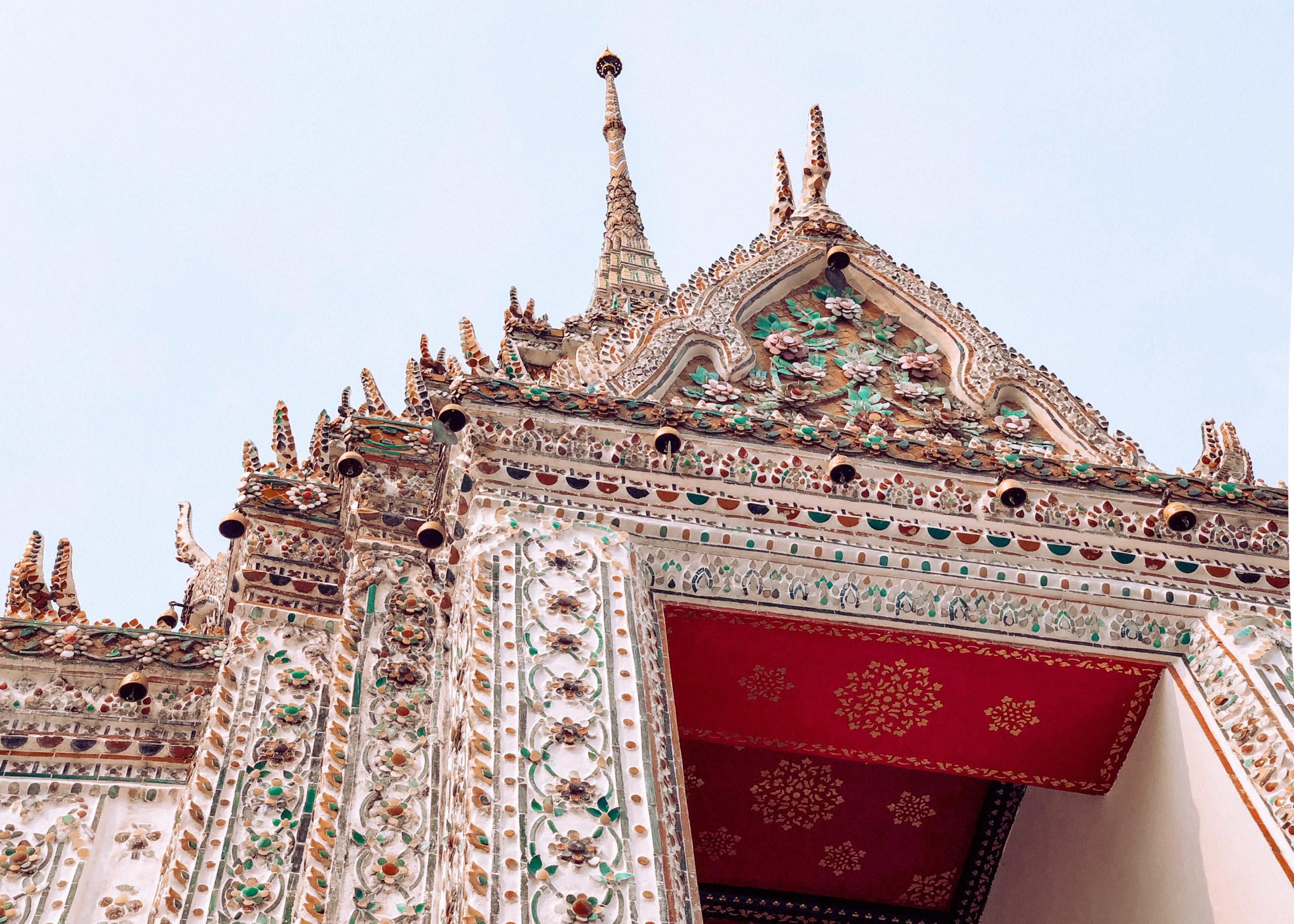 Wat Arun (le temple de l'aube) Bangkok Thaïlande
