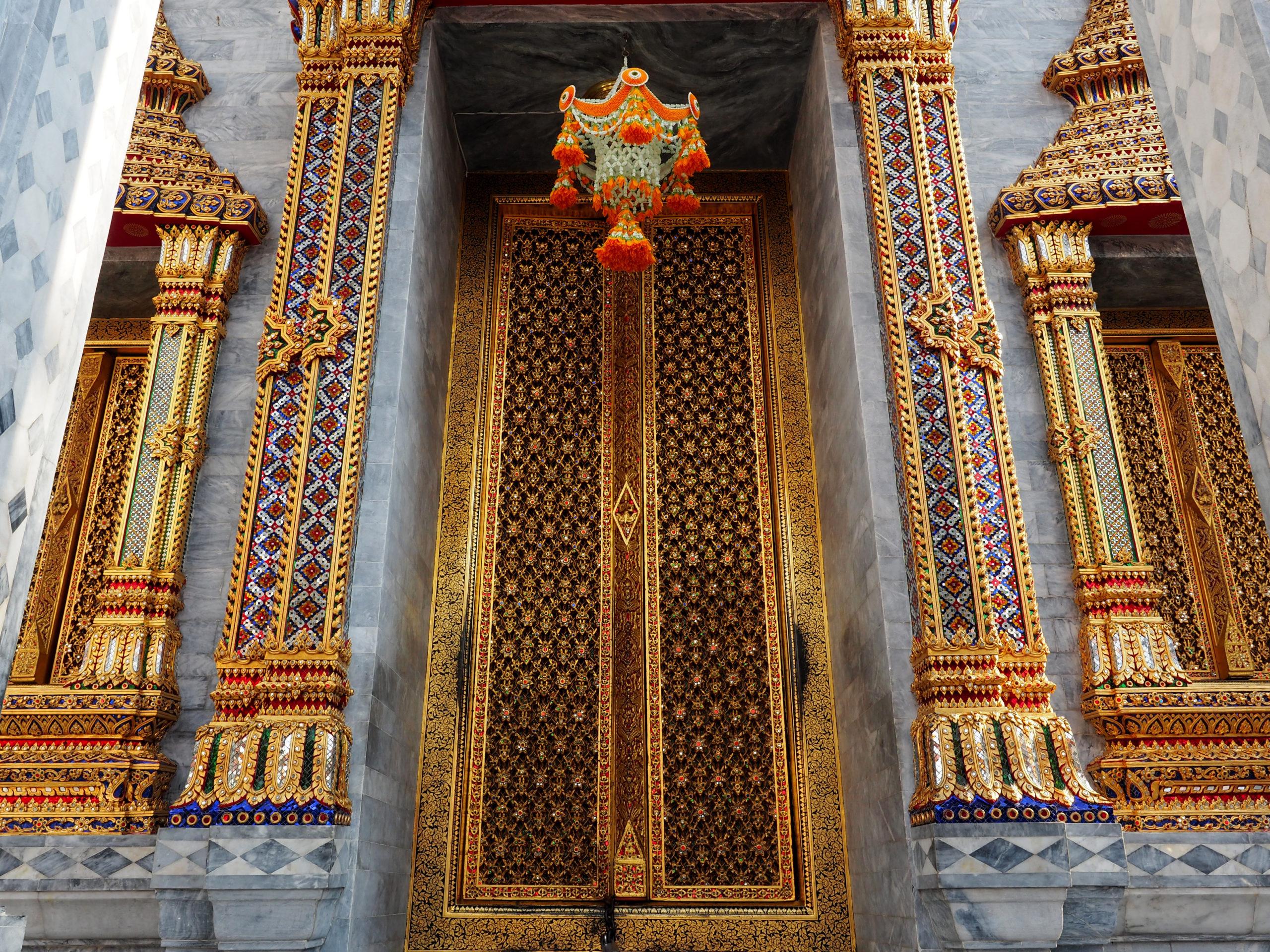 Wat Ratchapradit Bangkok Thaïlande