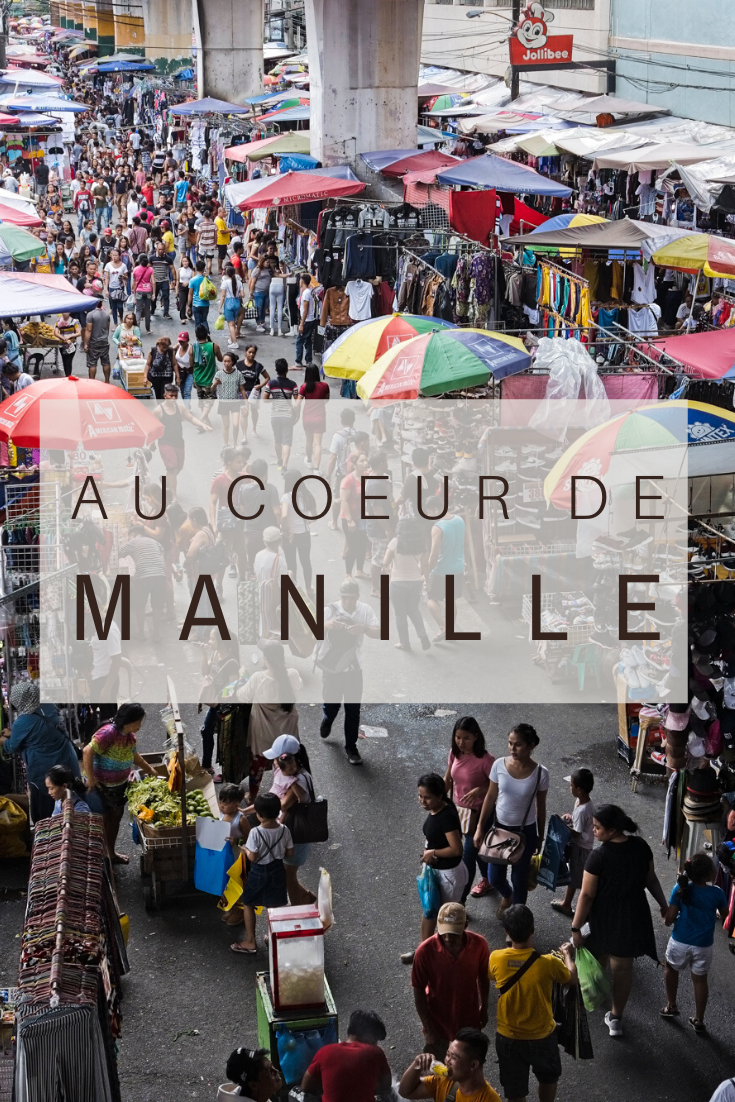 Je t'emmène avec moi au coeur de la folie de Manille. Des marchés bouillonnant jusqu'au centre historique, nous avons une journée pour découvrir la capitale des Philippines.