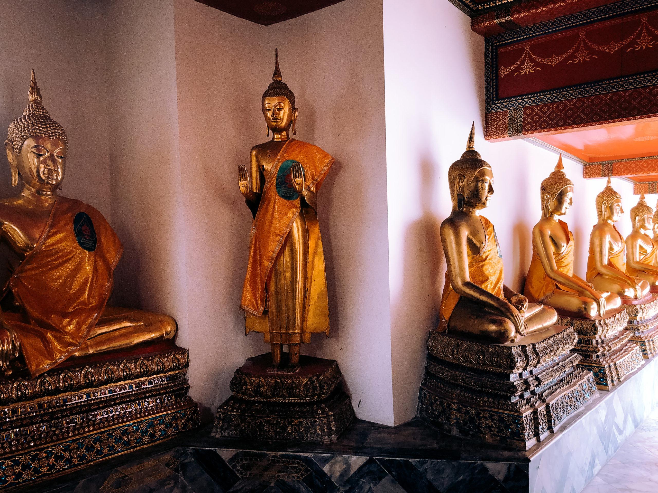 Wat Pho (temple du bouddha couché) Bangkok Thaïlande