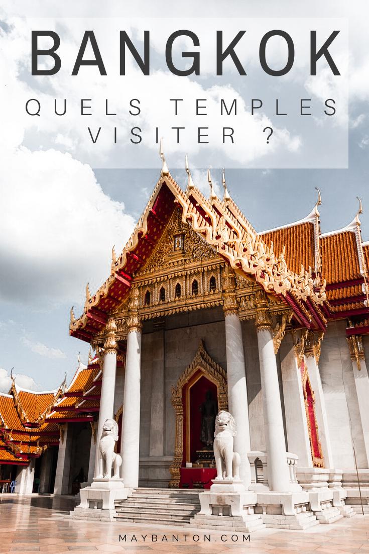 Il y à plus de 400 temples à Bangkok, pour t'aider à choisir quels temples visiter je te présente les 10 plus beaux de la capitale Thaïlandaise.