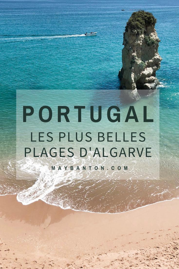 Dans cet article je t'emmène à la découverte des plus belles plages de l'Algarve, une région au sud du Portugal... Attention tu vas en prendre plein les yeux.