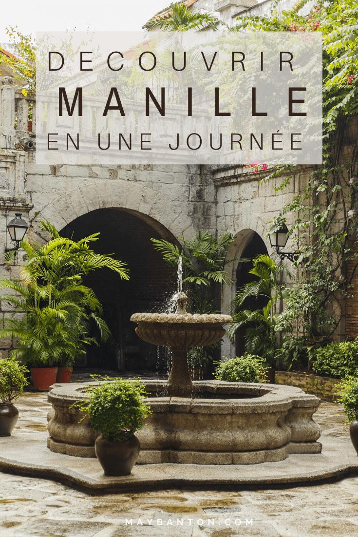 Manille renferme quelques trésors d'histoire comme Intramuros, le quartier espagnol datant de la colonisation. Je t'emmène à travers cet article découvrir les différentes facettes de la capitale des Philippines.