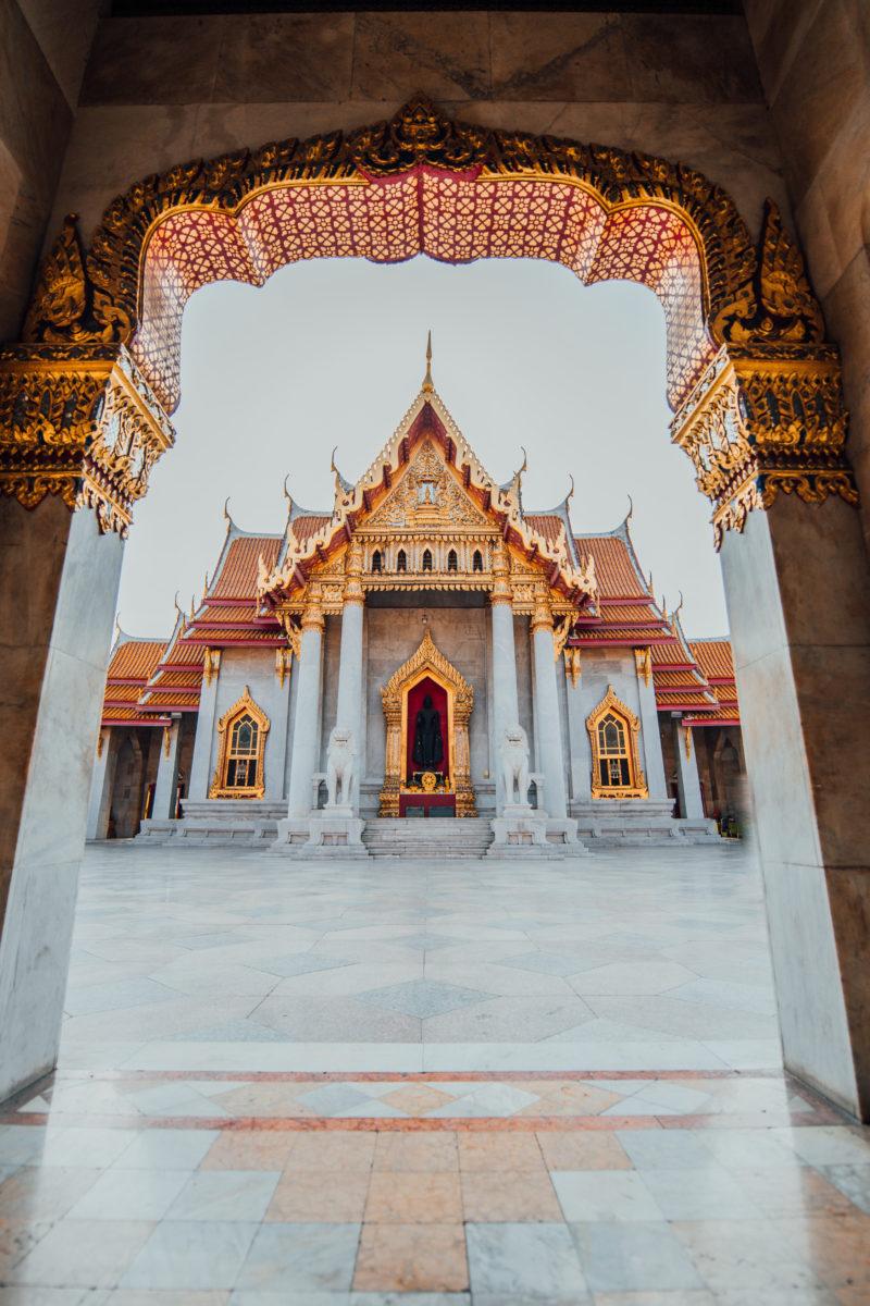 Wat Benchama Bophit (Le temple de marbre) Bangkok Thaïlande