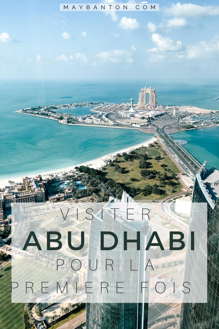 Visiter Abu Dhabi pour la première fois. Les tours Etihad, la Grande Mosquée ou encore l'Emirates Palace, cet article va t'aider à créer ton itinéraire pour visiter à Abu Dhabi pour la première fois.