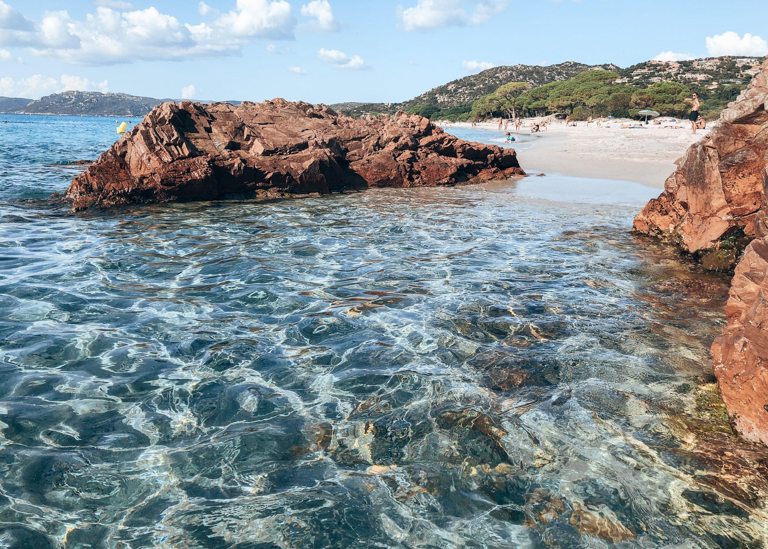 plage Palombaggia corse du sud, france